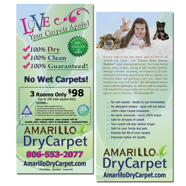 Rack cards start a carpet cleaning business carpet cleaning homemarketing materialsrack cards colourmoves