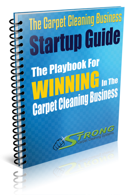 Strong Carpet Cleaning Manual